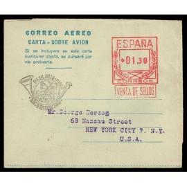 1947-1952 ED. 3 us Aerogramas
