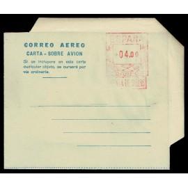 1947-1952 ED. 4 * Aerogramas