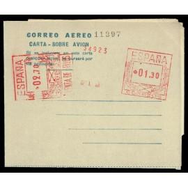 1947-1952 ED. 6 * Aerogramas