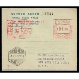 1947-1952 ED. 6 us Aerogramas