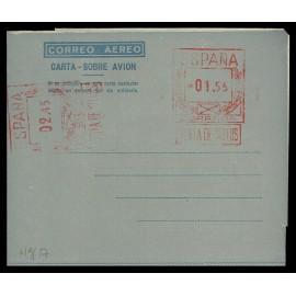 1948-1959 ED. 27a * Aerogramas