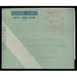 1949-1959 ED. 40bd * Aerogramas