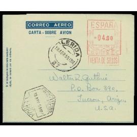 1956 ED. 61 us Aerogramas