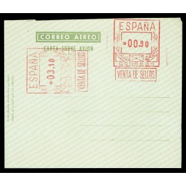 1956-1959 ED. 65 * Aerogramas