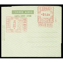 1956-1959 ED. 66 * Aerogramas