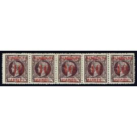 1898 ED. Cuba Intervención Norteamericana 15 + 15hp * [x5]