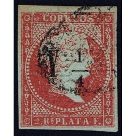 1855 ED. Cuba 4fd us