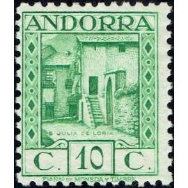 1935 ED. Andorra 31 * (3)