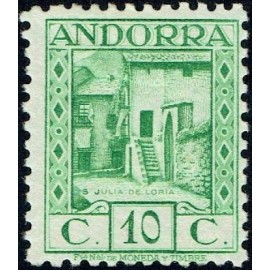 1935 ED. Andorra 31 * (2)