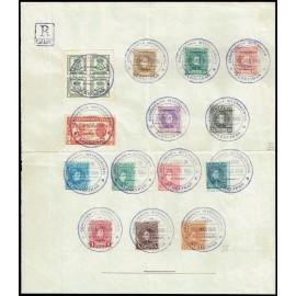 1901 ED. 241/243,  246/249, 251/255, 256, 173 us