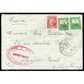 Guerra Civil - Marca de Censura de Durango (Vizcaya)