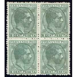 1879 ED. Fernando Poo 2 * [x4]