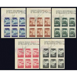1942 ED. Cabo Juby 133s/137s (*) [x6]