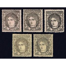 1870 ED. 103 * [x5]