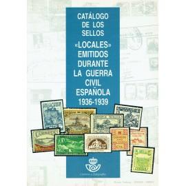 CATÁLOGO DE LOS SELLOS 'LOCALES' EMITIDOS DURANTE LA GUERRA CIVIL ESPAÑOLA 1936-1939