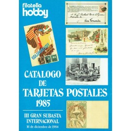 CATÁLOGO DE TARJETAS POSTALES 1985