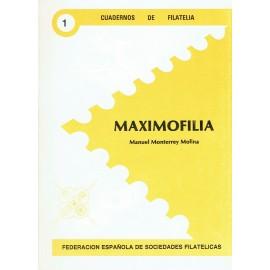CUADERNOS DE FILATELIA 01 - MAXIMOFILIA