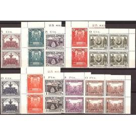 1931 ED. 604M/613M ** [x4]