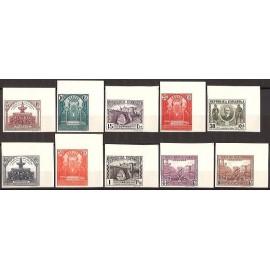 1931 ED. 604s/613s **