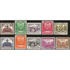 1931 ED. 620/629 us