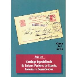 CATÁLOGO ESPECIALIZADO DE ENTEROS POSTALES DE ESPAÑA, COLONIAS Y DEPENDENCIAS