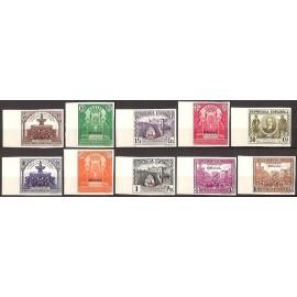 1931 ED. 620s/629s **