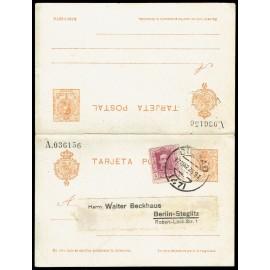 1910 ED. 52 us Tarjetas Entero Postales