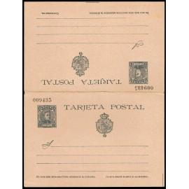 1901 ED. 38 * Tarjetas Entero Postales
