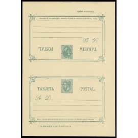 1882 ED. 12 ** Tarjetas Entero Postales