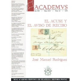 ACADEMVS 2018/22 - EL ACUSE Y EL AVISO DE RECIBO