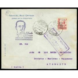 1937 ED. ELP Jerez de la Frontera 22 us