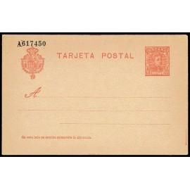 1904 ED. 45 * Tarjetas Entero Postales