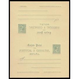1890 ED. 26 ** Tarjetas Entero Postales