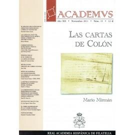 ACADEMVS 2011/15 - LAS CARTAS DE COLÓN