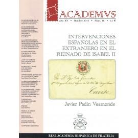 ACADEMVS 2014/18 - INTERVENCIONES ESPAÑOLAS EN EL EXTRANJERO EN EL REINADO DE ISABEL II