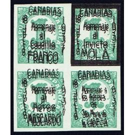 1937 ED. ELP Santa Cruz de Tenerife 15hh **