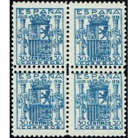 1936 ED. 801dd ** [x4]