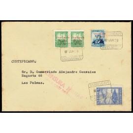 1937 ED. ELP Santa Cruz de Tenerife 41 [x2], 43 us
