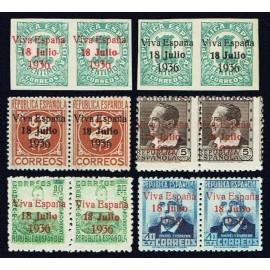 1937 ED. ELP Santa Cruz de Tenerife 36+36a/37+37a, 39+39a/41+41a, 43+43a **/*