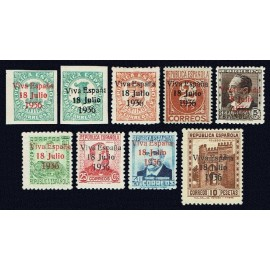 1937 ED. ELP Santa Cruz de Tenerife 36/44 *