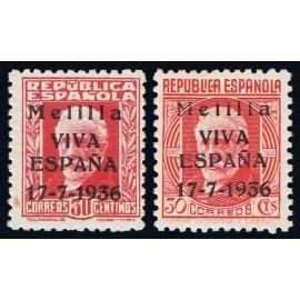 1936 ED. ELP Melilla 1/2 *