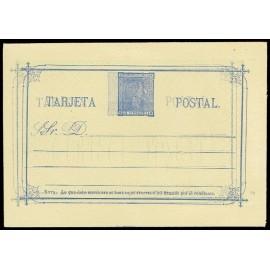 1875 ED. 8e * Tarjetas Entero Postales