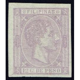 1876 ED. Filipinas 38s *