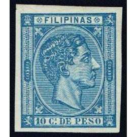 1876 ED. Filipinas 37s *