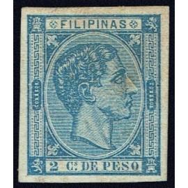 1876 ED. Filipinas 35s *