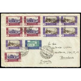 Colonias Españolas ED. Marruecos 280 [x5], 281 [x5], 282