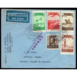 Colonias Españolas ED. Marruecos 186/188, 192, Benef. 1