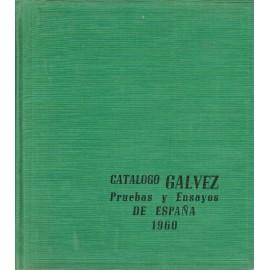 CATÁLOGO GÁLVEZ PRUEBAS Y ENSAYOS DE ESPAÑA 1960