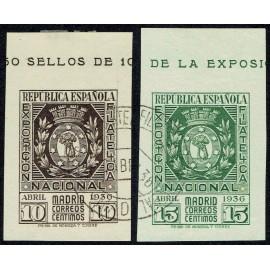 1936 ED. 727/728 us
