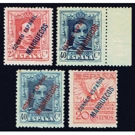 1929 ED. Tánger 55a/62a *